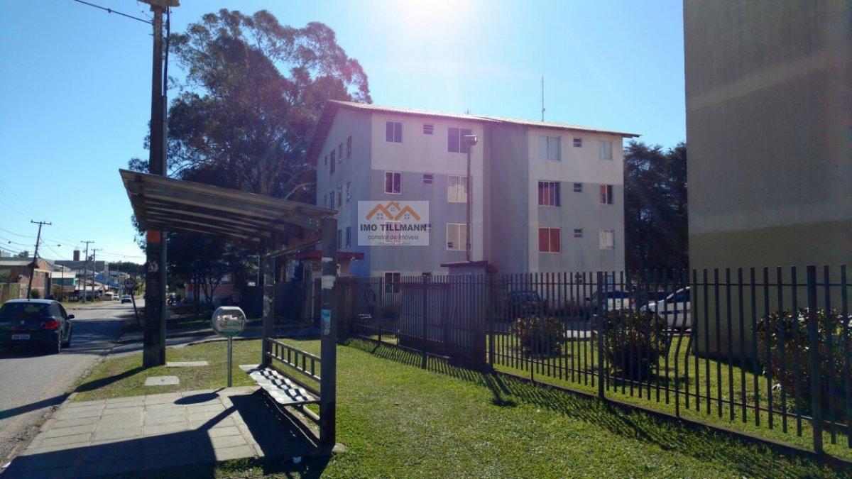 Apartamento a Venda no bairro Afonso Pena em São José dos Pinhais - PR. 1 banheiro, 2 dormitórios, 1 cozinha,  sala de jantar.  - AP-365