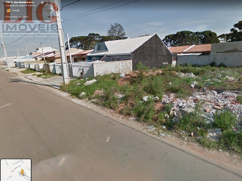 Terreno a Venda no bairro Jardim Eucalipto em Fazenda Rio Grande - PR.  - T-026