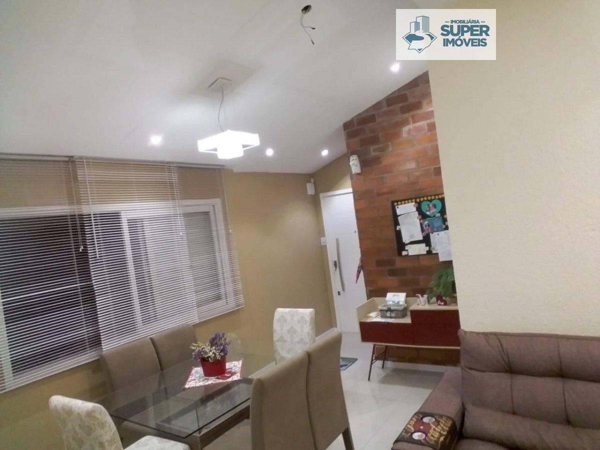 Apartamento a Venda no bairro Areal em Pelotas - RS. 1 banheiro, 3 dormitórios, 1 cozinha,  área de serviço,  sala de estar,  sala de jantar,  escritó