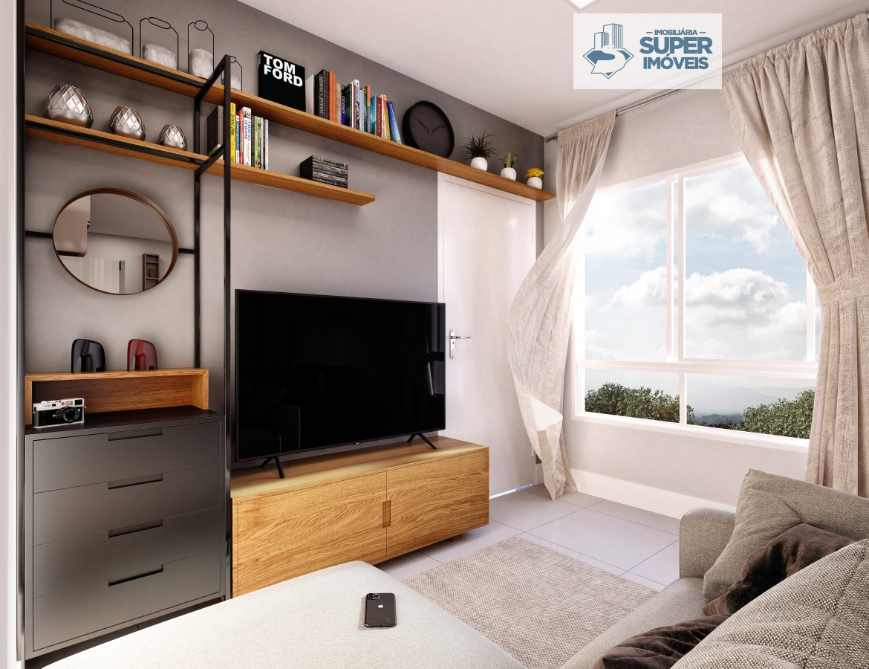 Apartamento a Venda no bairro Três Vendas em Pelotas - RS. 1 banheiro, 2 dormitórios, 1 vaga na garagem, 1 cozinha,  área de serviço,  sala de estar,