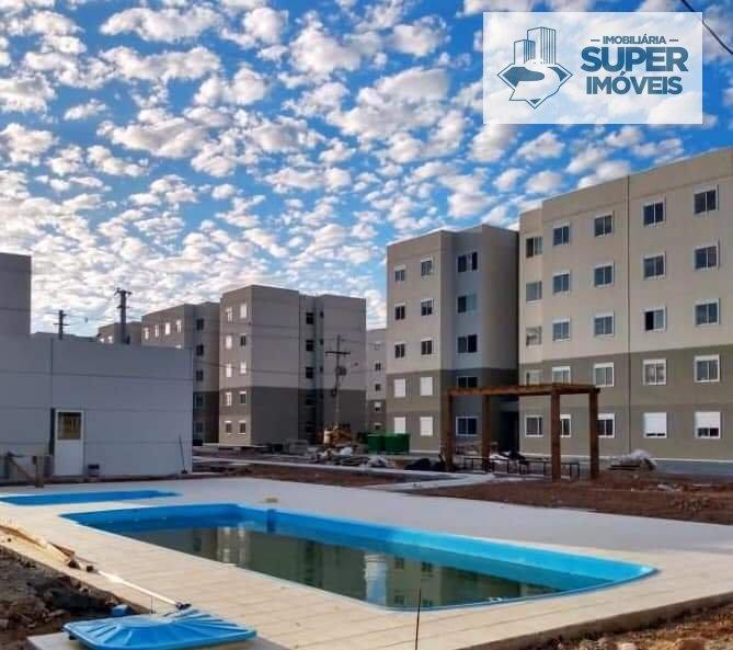 Apartamento a Venda no bairro Areal em Pelotas - RS. 1 banheiro, 2 dormitórios, 1 vaga na garagem, 1 cozinha,  sala de estar.  - 1563