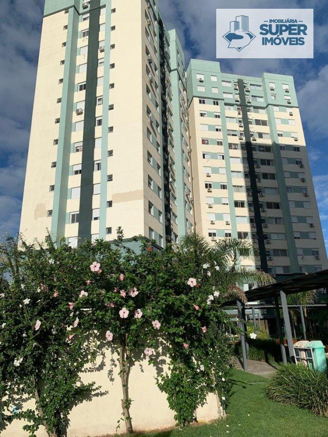 Apartamento a Venda no bairro Areal em Pelotas - RS. 2 banheiros, 2 dormitórios, 1 suíte, 1 vaga na garagem, 1 cozinha,  área de serviço,  sala de est