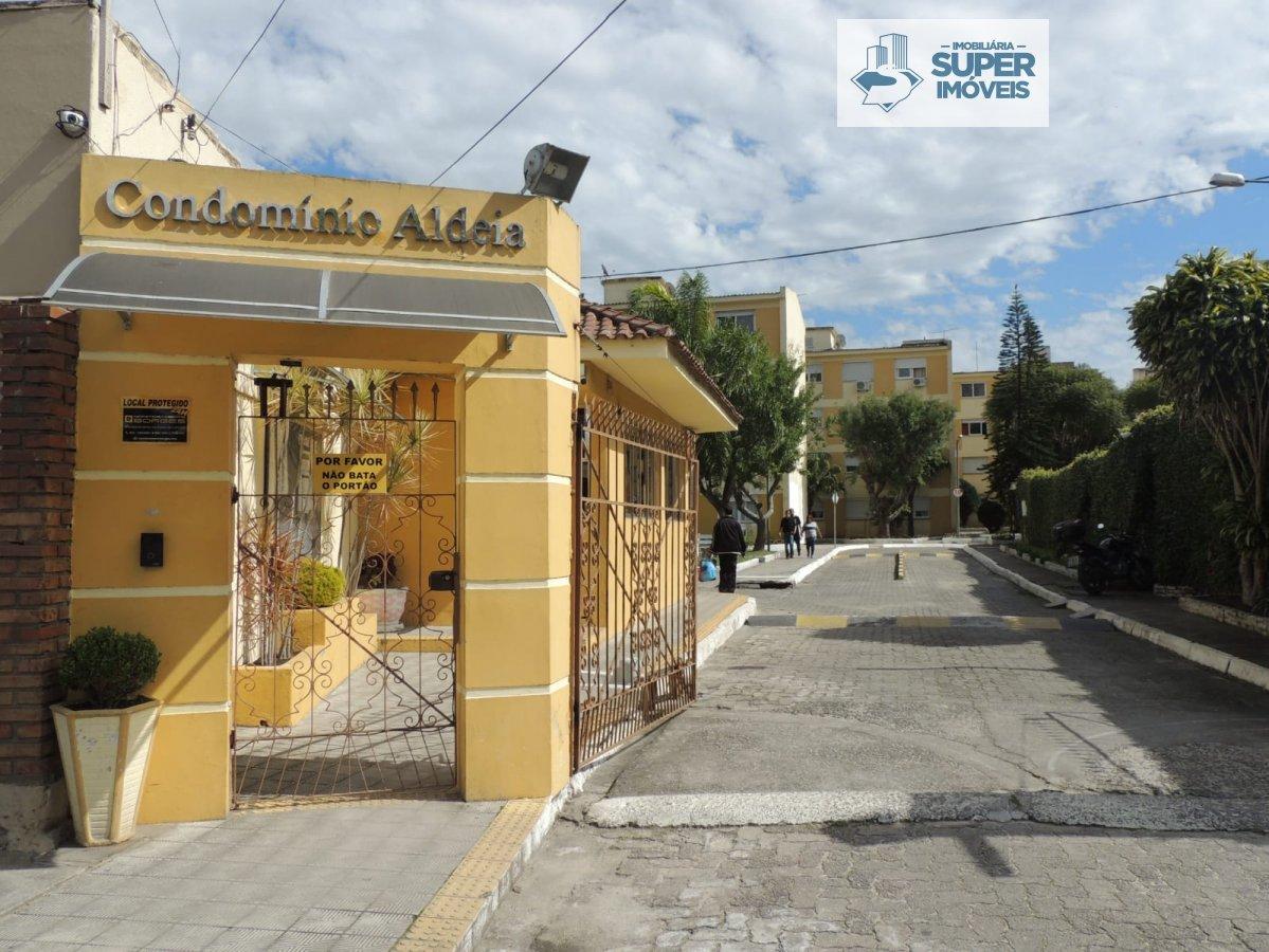Apartamento a Venda no bairro Areal em Pelotas - RS. 1 banheiro, 1 dormitório, 1 vaga na garagem, 1 cozinha,  área de serviço,  sala de estar,  sala d
